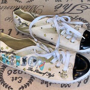 Kitson tennis shoes